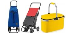 Carrelli e cesti per gli acquisti