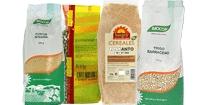 Pasta, cereales y legumbres