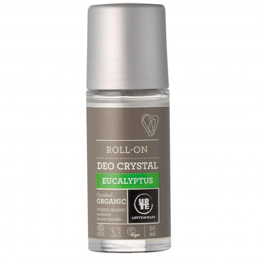 Deodorante Roll-On cristal Eucalipto Urtekram, 50 ml