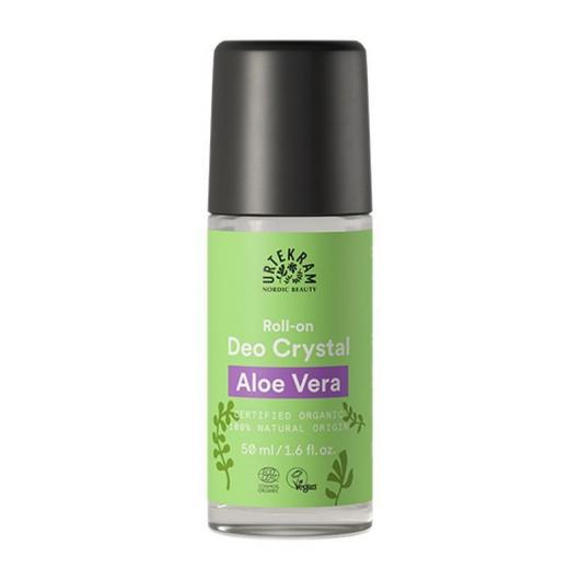 Déodorant à bille cristal d'alun et aloé vera Urtekram, 50 ml