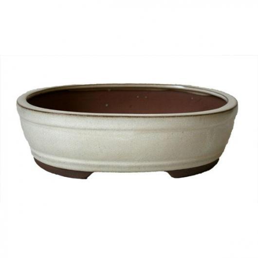 Vaso Java ovale crema