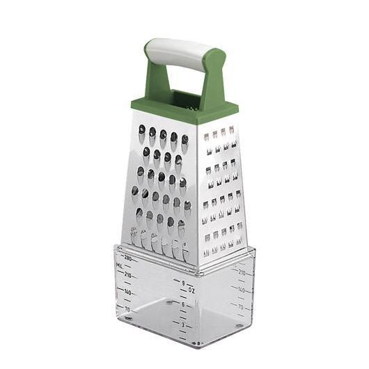 Rallador 4 caras con deposito medidor Handy