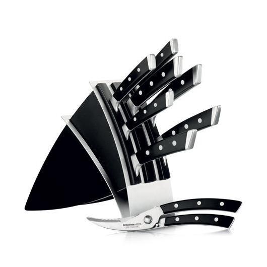 Tacoma con 7 cuchillos 1 tijera para trinchar Azza