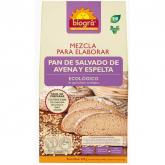 Mistura para elaborar pão de salvado de aveia e espelta Biográ, 509 g