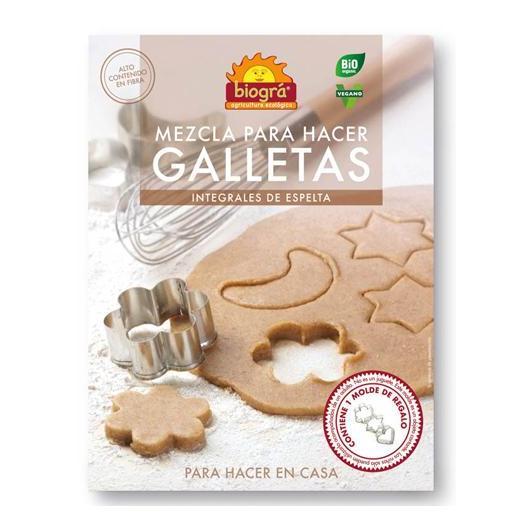Mezcla para hacer Galletas de Espelta integral Biográ, 100 g