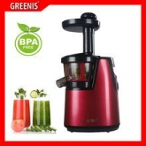 Extracteur de jus F-9010 Greenis, couleur rouge
