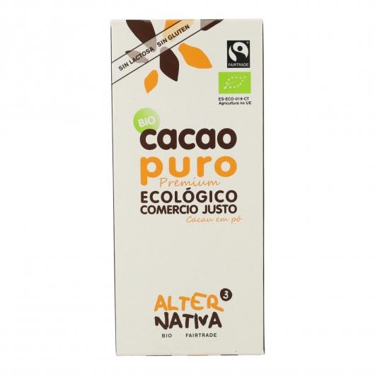 Cacao pur dégraissé bio Alternativa, 150 g