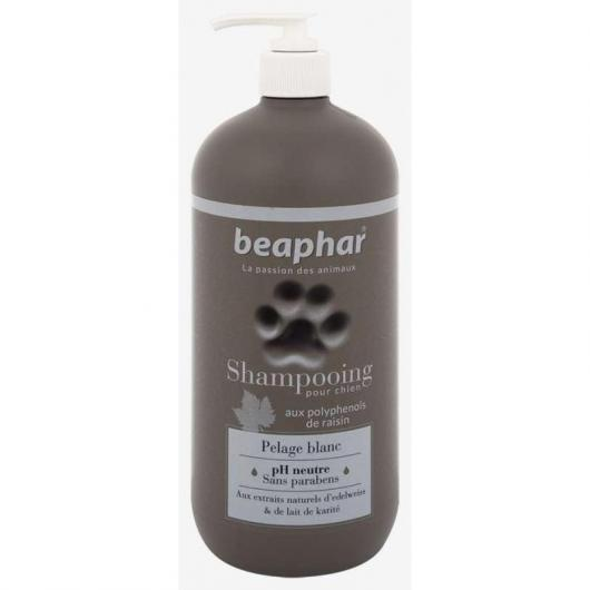 Shampooing pour chiens au pelage blanc, 750 ml