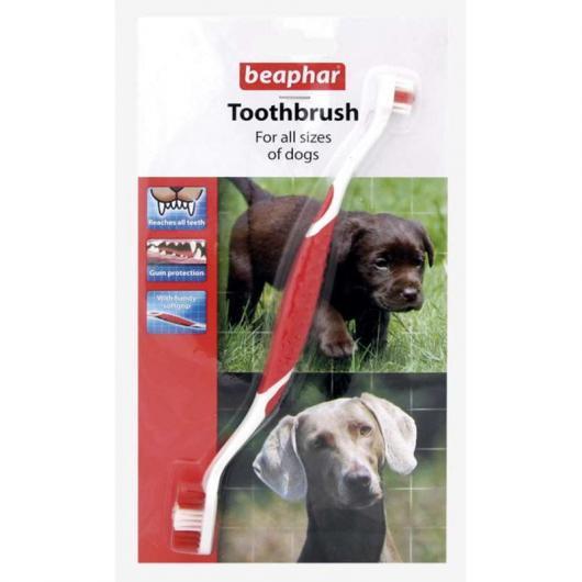 Cepillo de dientes con doble mango
