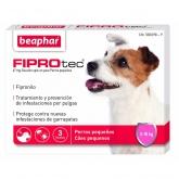 67 mg Fiprotec Solução Spot-On para Cães Pequenos 5-10kg (3 pipetas de 0,67ml)