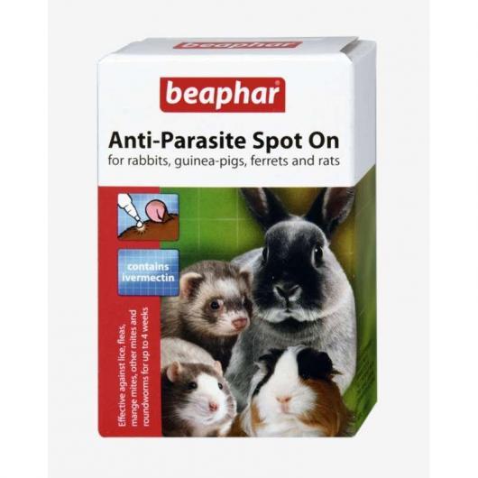 Pipette Spot On anti parassiti per conigli