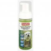 Espuma repulsiva antiparasitas natural cães e gatos