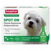 Anti-parasitic drops for small dogs