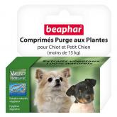 Tablete antiparasita natural cão pequeno