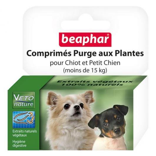 Tabletas antiparasitarias naturales perro pequeño y cachorros