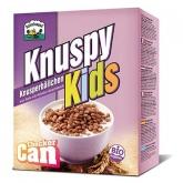 Cereais Knuspy Kids arroz e cacau Barnhouse, 250 g