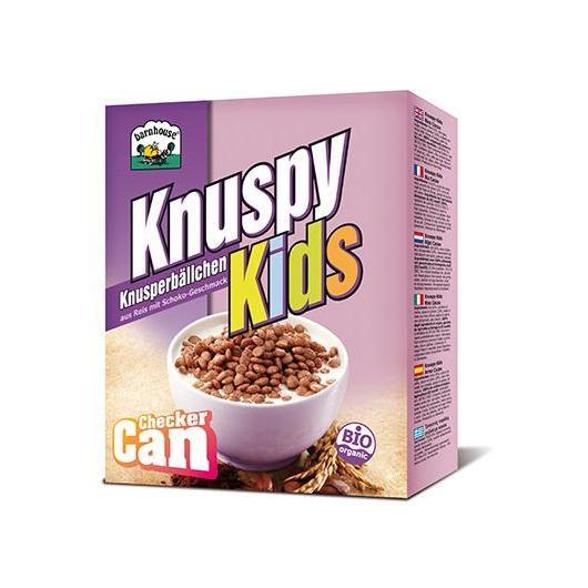Cereales Knuspy Kids arroz y cacao Barnhouse 250g