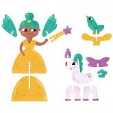 Quebra-cabeça Princesas 3d