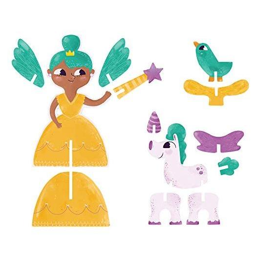 Puzzle 3D princesses
