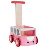 Jouet camionnette de marche rose