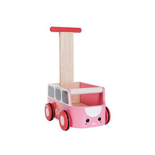 Furgo andador rosa