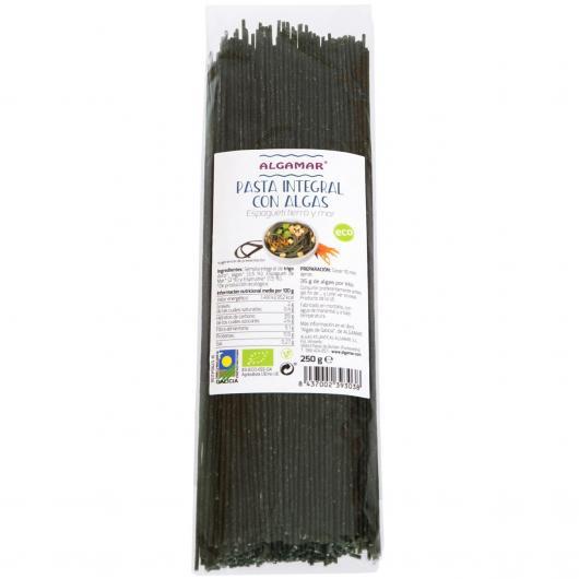 Spaghetti Integrali con Alghe Algamar, 250 gr
