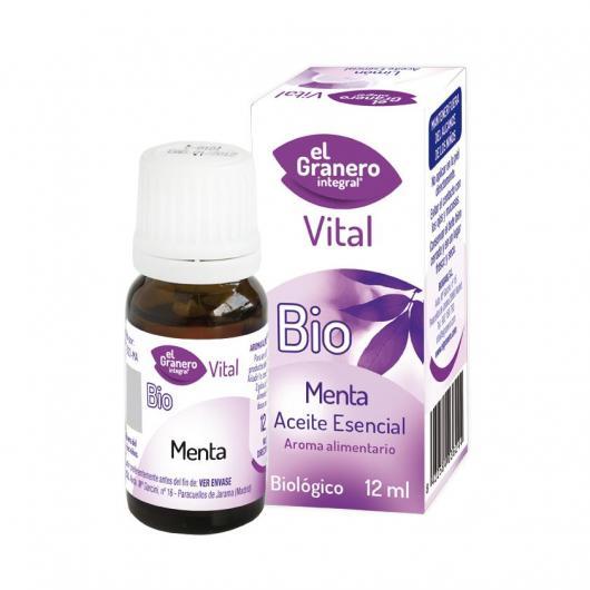 Olio essenziale Menta Biologico El granero Integral 12 ml