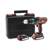 Berbequim Black & Decker Multievo 18V 1.5 Ah Litio MT188KB