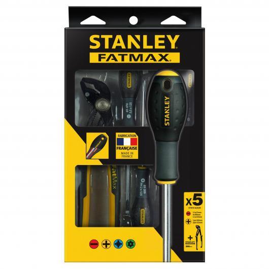Juego de destornilladores Stanley FatMax de 5 piezas