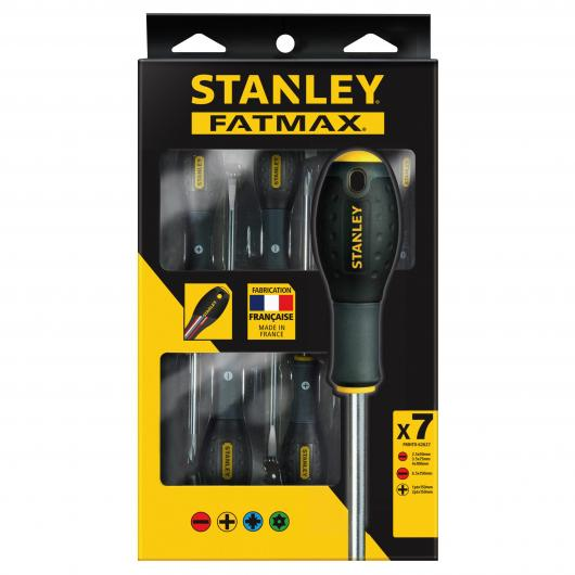 Juego de destornilladores Stanley FatMax de 7 piezas