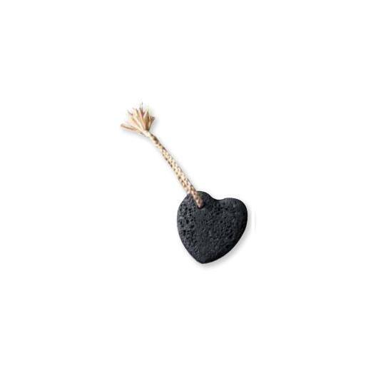 Piedra pómez Corazón Ecodis, 8 cm