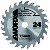 Disco de corte de madeira 120 mm para WorxSaw XL