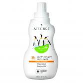 Detergente líquido lavadora Cítrico Attitude, 35 dosis