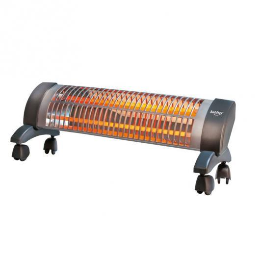 Estufa de cuarzo con ruedas Habitex E360