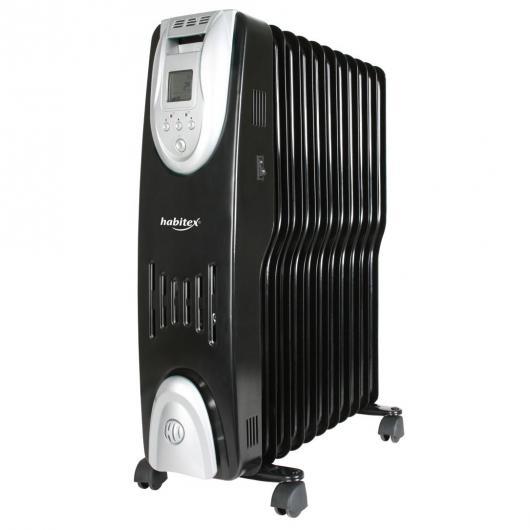 Radiador de aceite Habitex serie E 310 pantalla digital 9 elementos