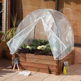 Serre avec housse de protection seed cover 80
