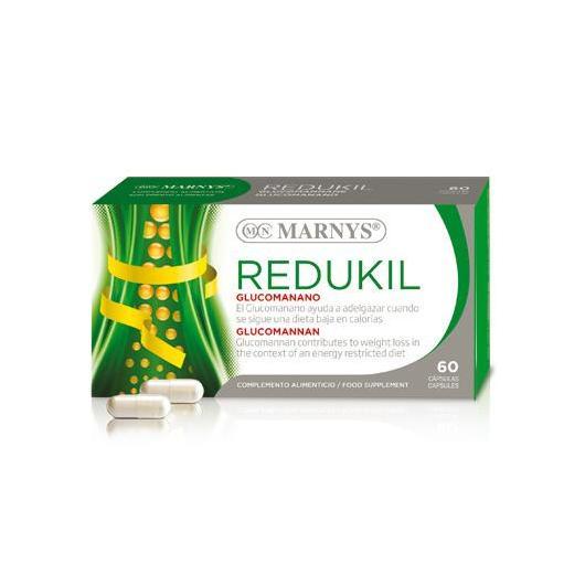 Redukil Glucomanano Marnys, 60 capsulas