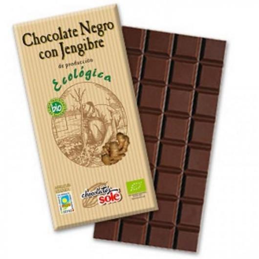 Cioccolata fondente con zenzero Solé, 100gr