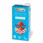 EcoMil almond calcium milk with agave 1ltr