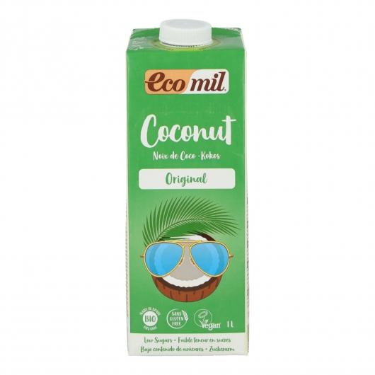 Lait de coco avec sirop d'agave EcoMil, 1 L