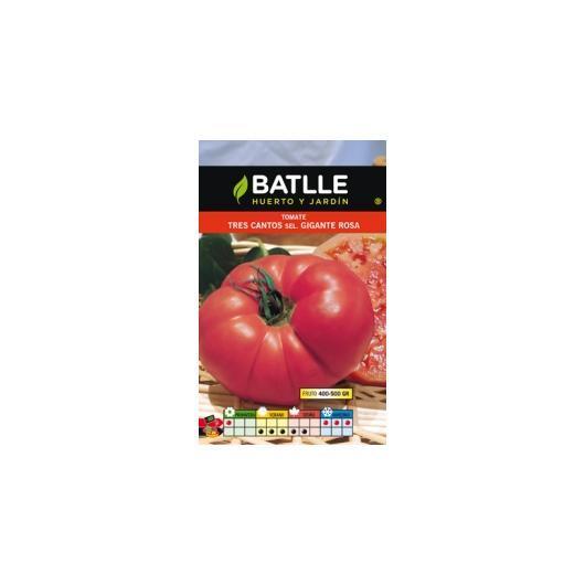 Semillas de  Tomate Tres Cantos sel. Gigante Rosa