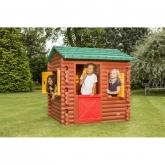 Casa per bambini capanna di legno