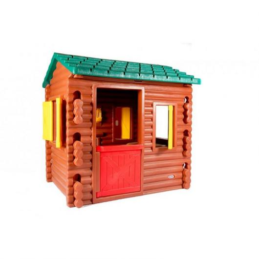 Casa per bambini capanna di legno per 499 95 in planeta - Casa di legno per bambini ...