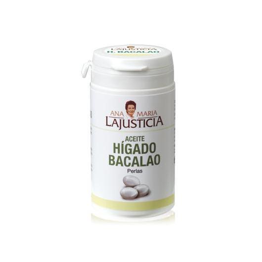 Aceite de Hígado de Bacalao Ana María LaJusticia, 90 perlas