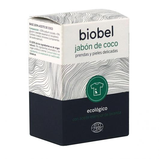 Savon à la noix de coco pour peaux sensibles et vêtements délicats Biobel 240 g