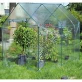 Estufa de jardim transparente
