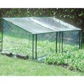 Invernadero de suelo doble apertura