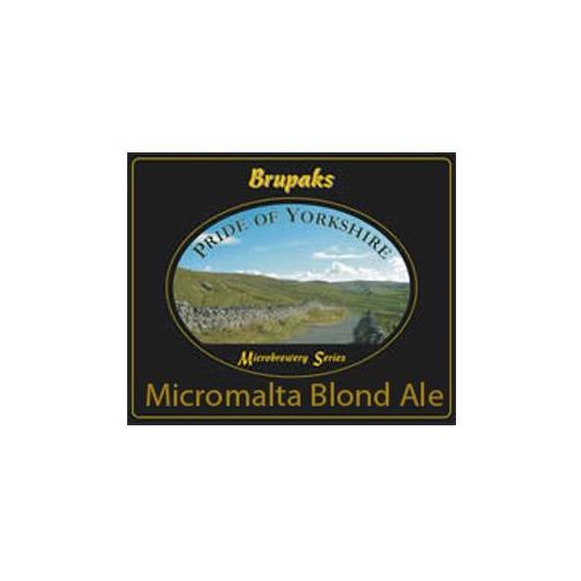 Kit de ingredientes Micromalta Blond Ale - Cerveza Dorada Brupaks