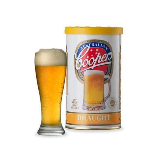 Kit de ingredientes Draught - Cerveza de Barril Coopers