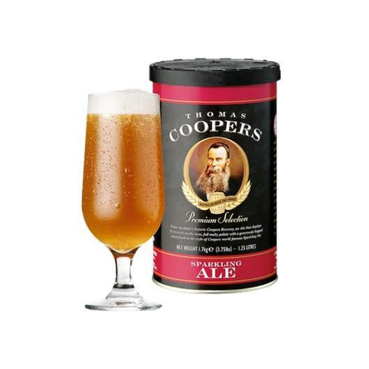 Kit de ingredientes Sparkling Ale Coopers